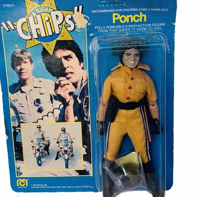 Mego Ponch Chips action figure MOC 1977