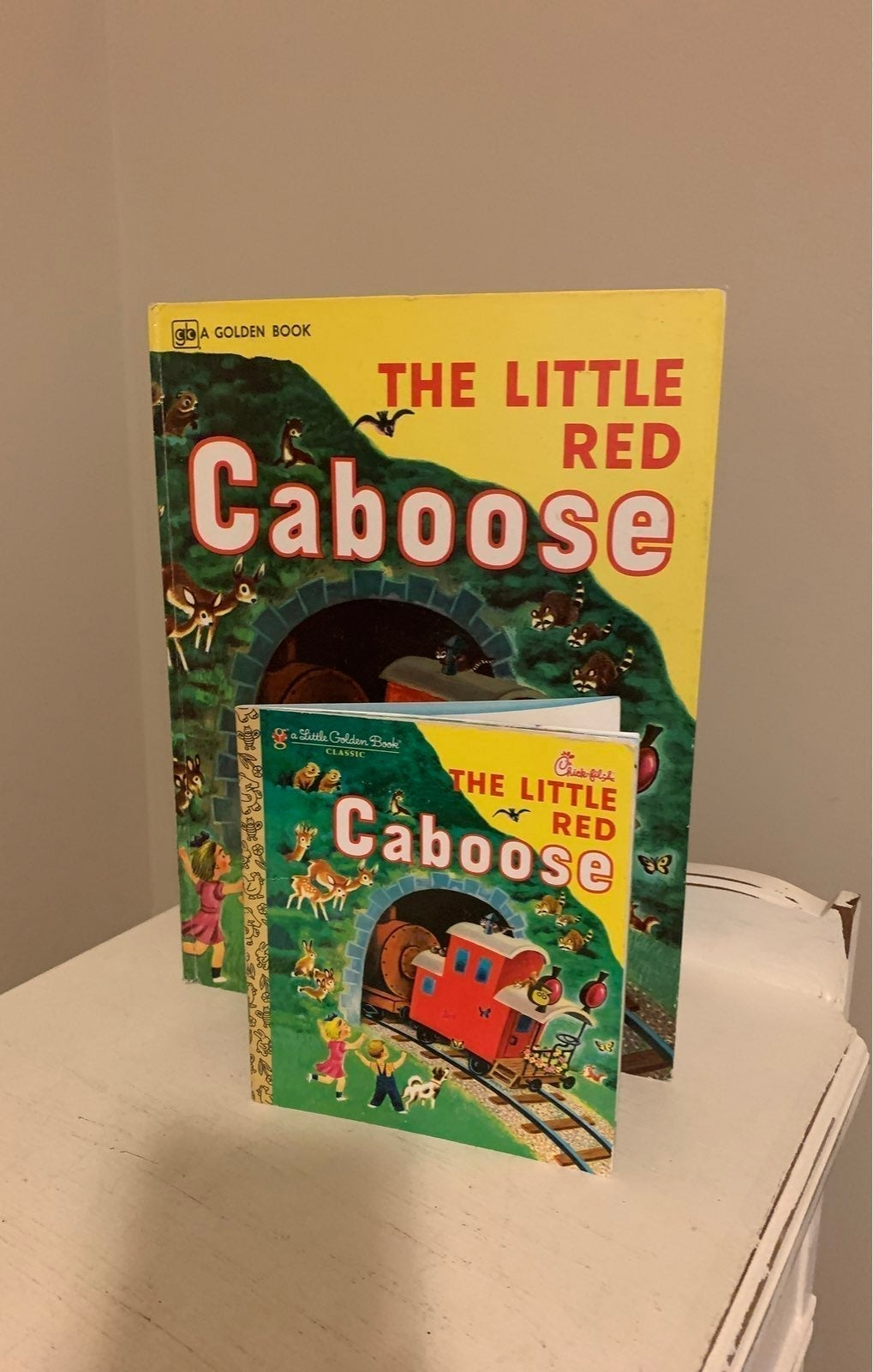 Vintage The Little Red Caboose Books