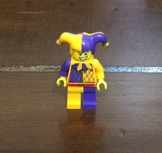 Lego Court Jester Mini Figure