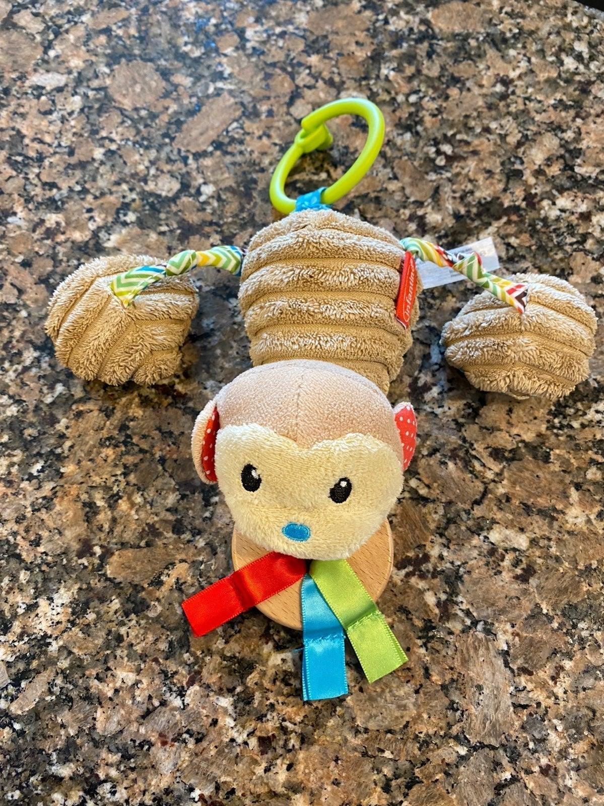 infantino monkey and kellytoy elephant