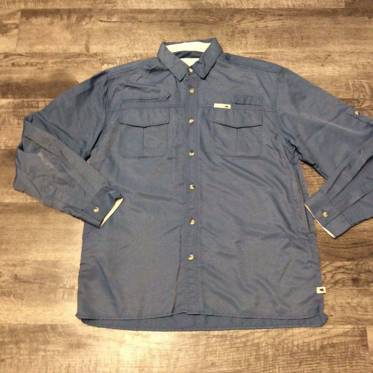 Dakota Grizzly Kenyon Fishing Shirt L