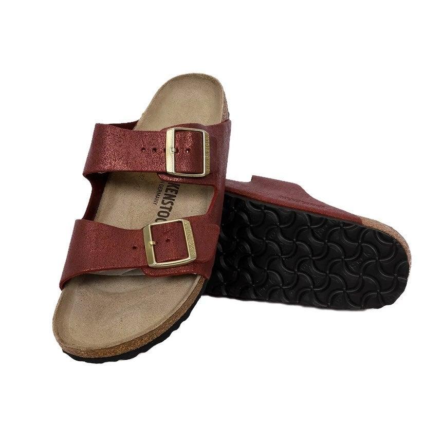 NIB Birkenstock Arizona Suede Sandals