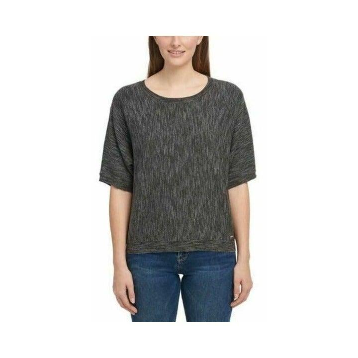 NWT DKNY Marled Knit Top XL