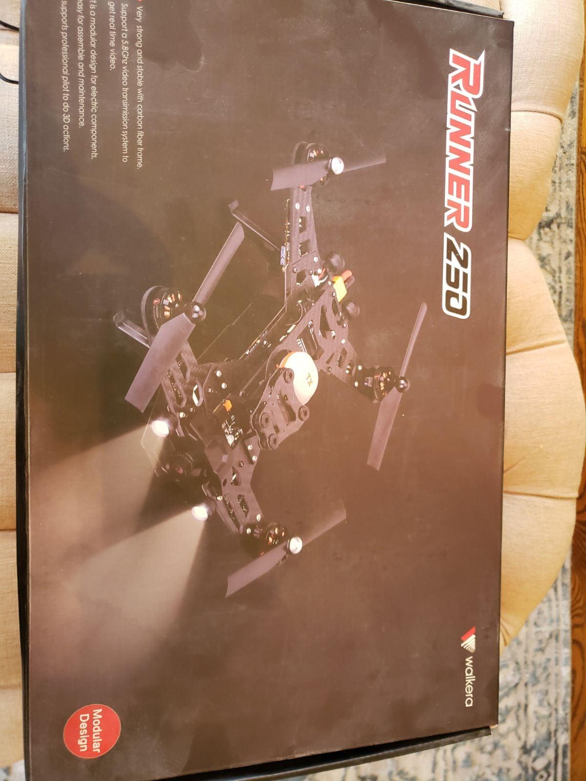 Walkera Runner250 racing drone RTF.