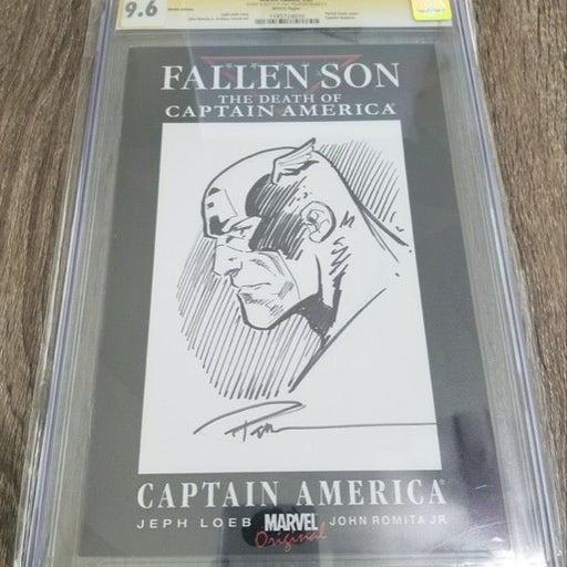 Fallen Son Death Cap America #3 CGC 9.6