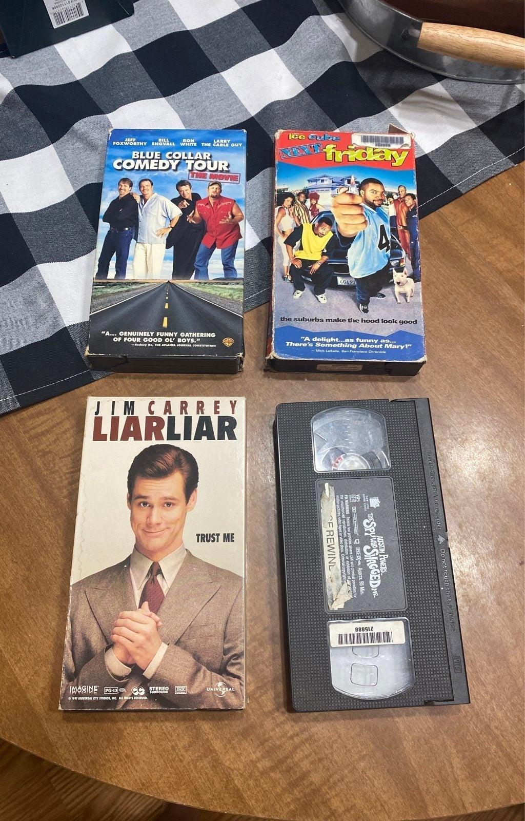 VHS comedy bundle