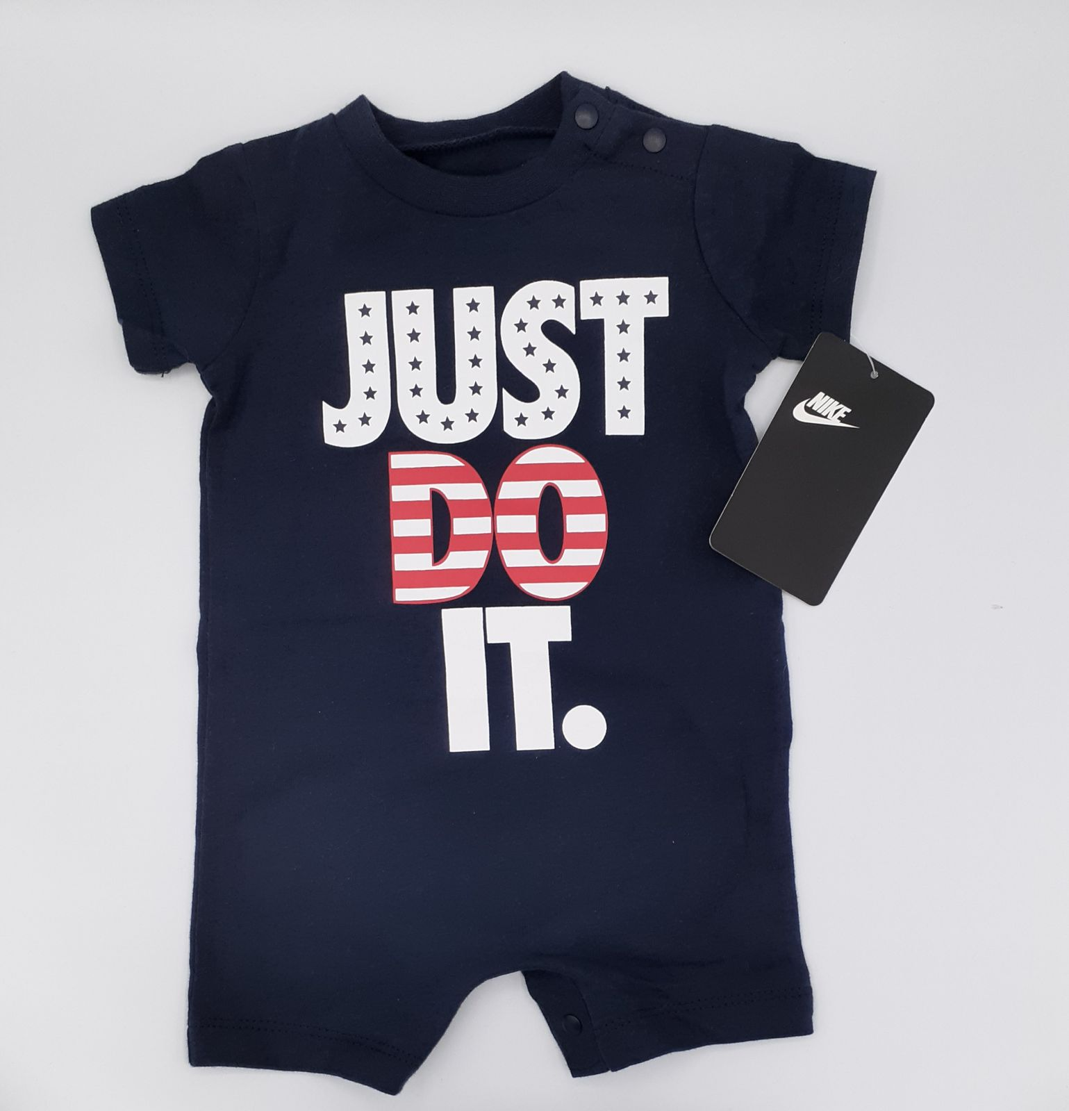 NIKE BABY ROMPER JUST DO IT 3M NWT