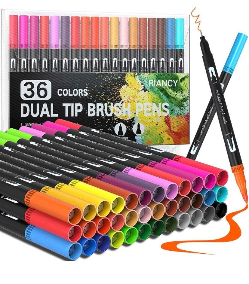 36 Colors Dual Tip Art Brush