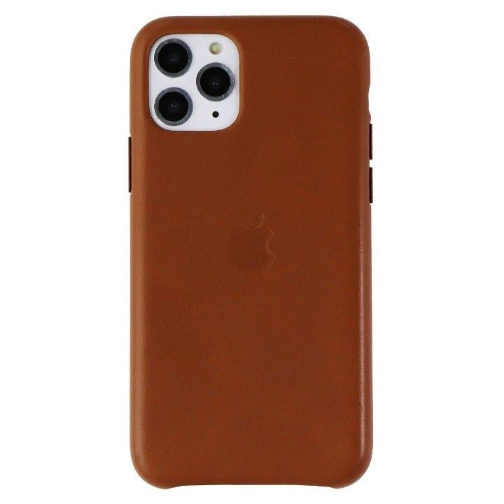 APPLE Leather iPhone 11 Pro Brown Case