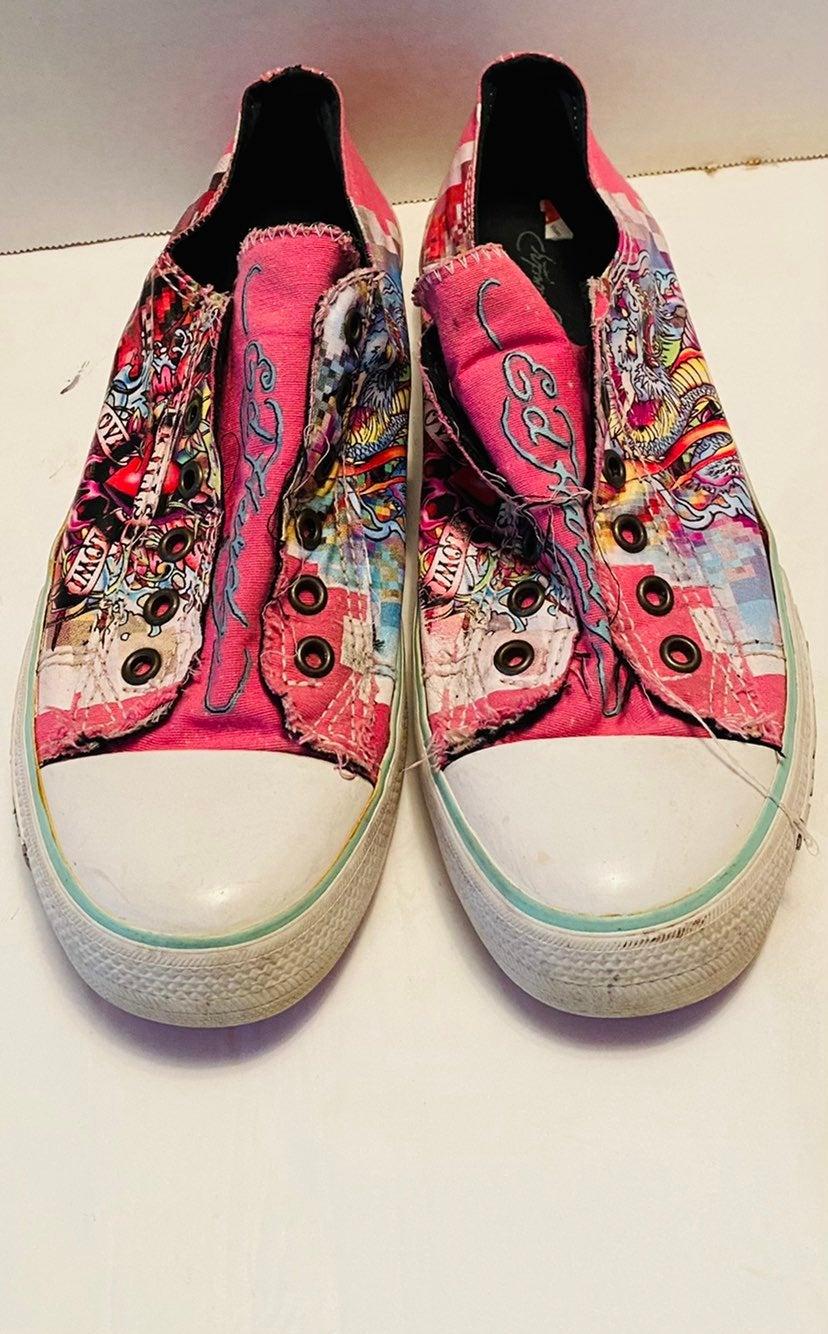 Ed hardy women sneakers size 10