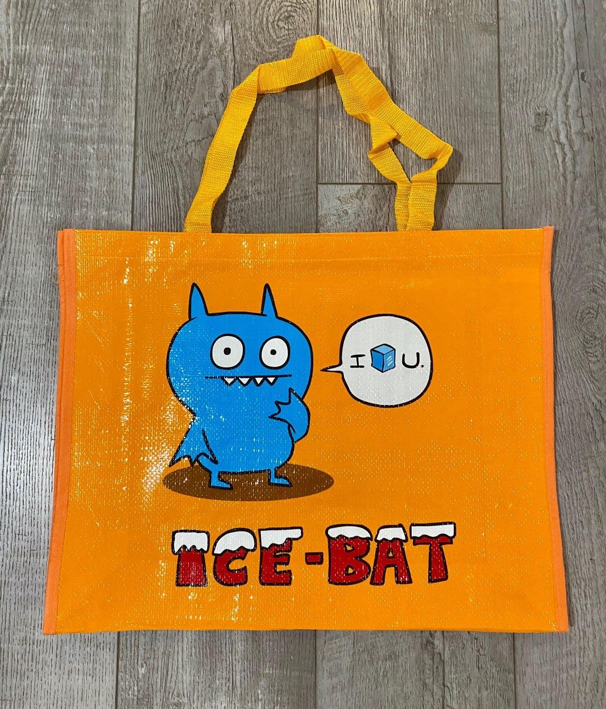Orange Uglydoll Tote bag with Ice-Bat