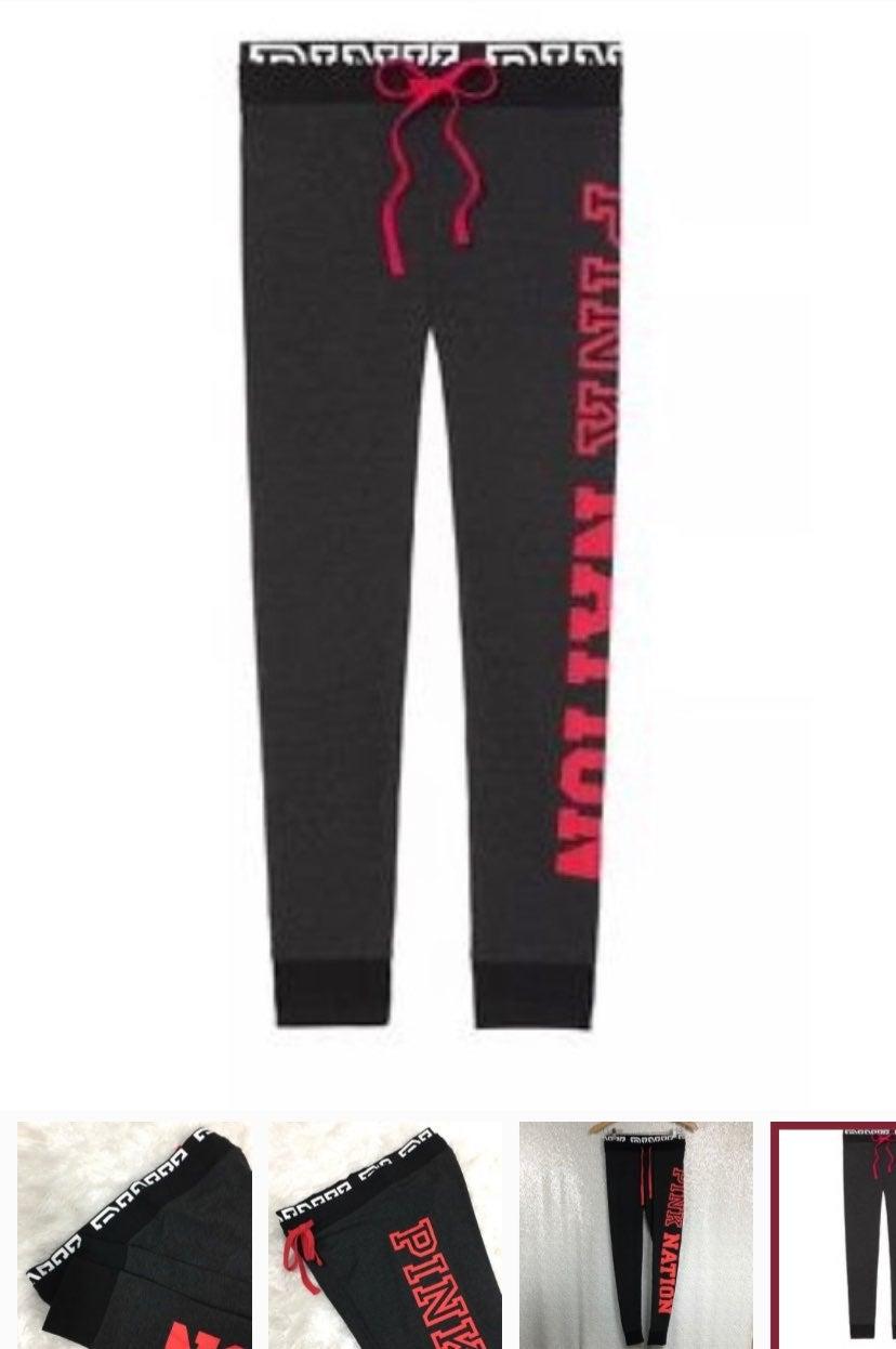 NWT VS PINK Campus Yoga leggings (XS)