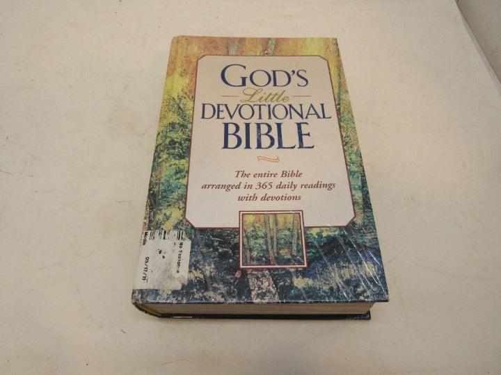 God's Little Devotional Bible Hardcover