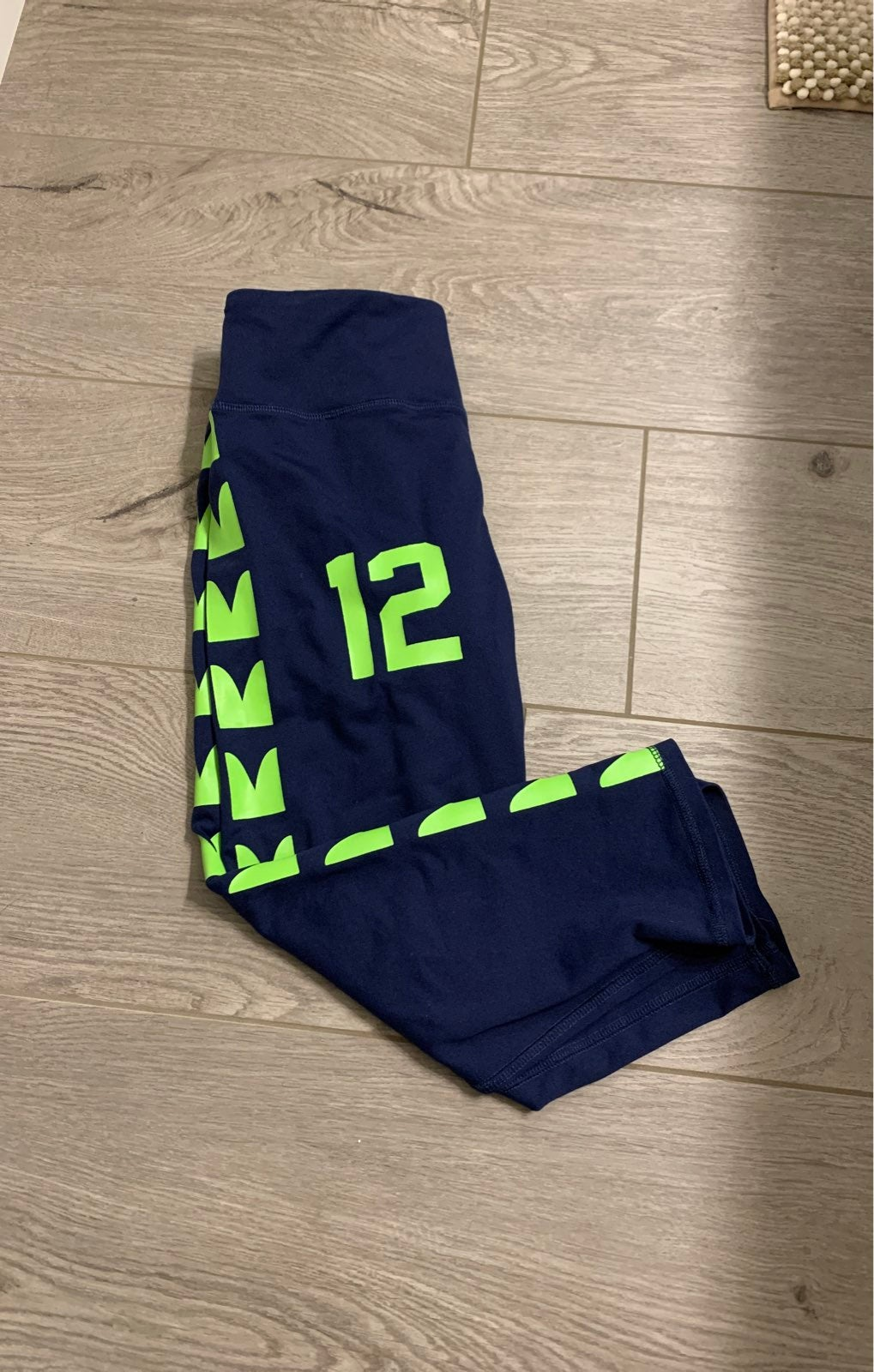 Seattle seahawk NFL legging/capris