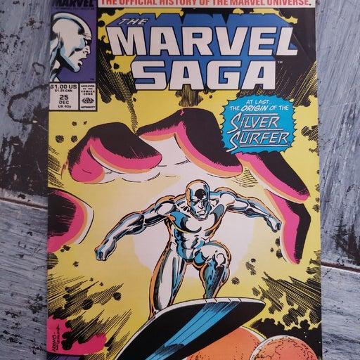 Marvel Saga 25 Silver Surfer Origin  198