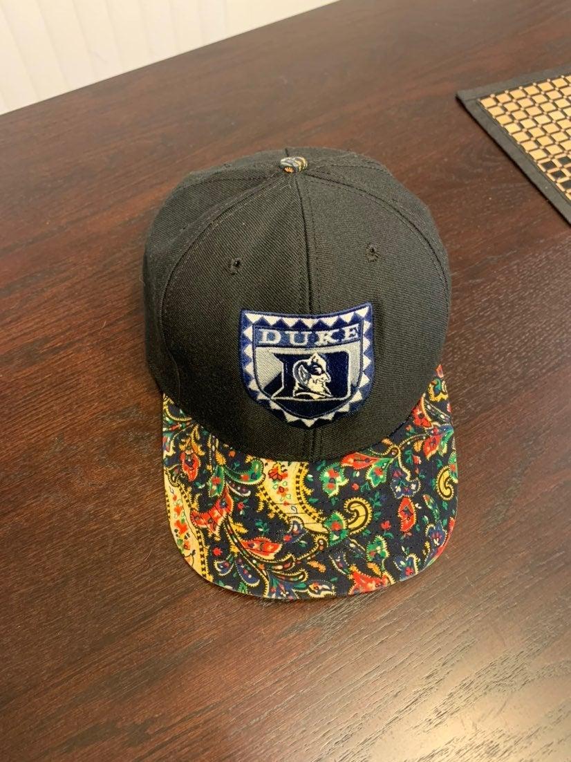 Vintage DUKE College Snapback Hat