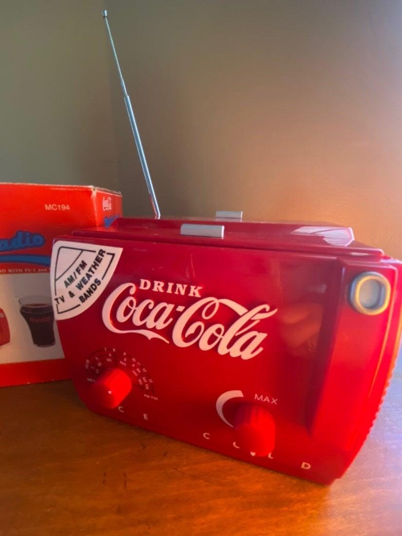Coca-Cola - Mini Cooler Radio