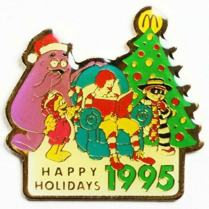 McDonald's Christmas 1995 Ronald Pin