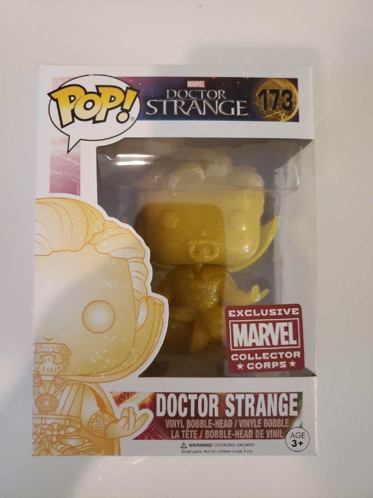 Funko Pop Gold Doctor Strange Exclusive