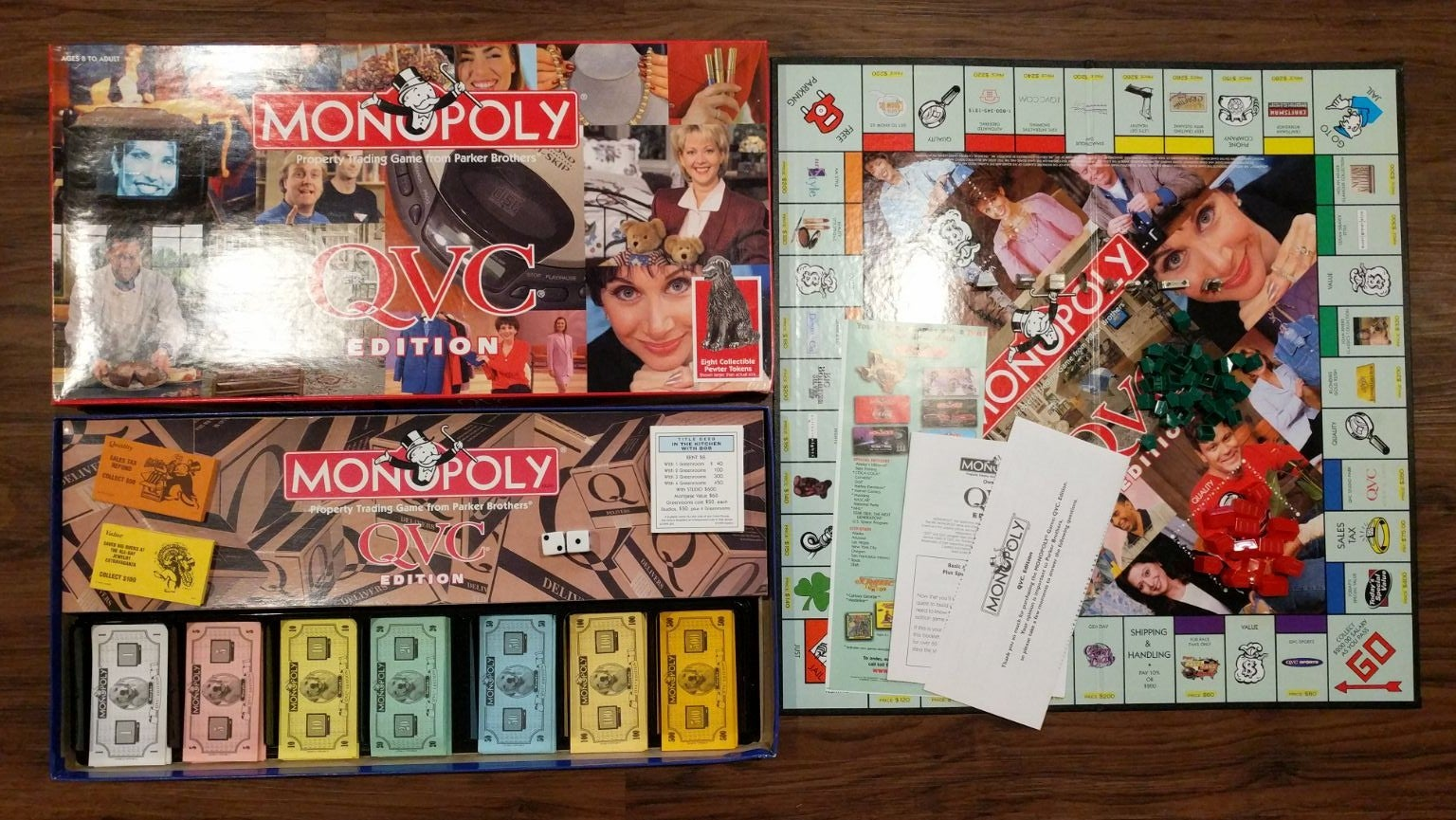 MONOPOLY QVC Edition Board Game 100%
