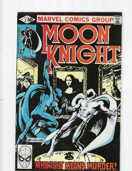 MOON KNIGHT #3, 1st App Midnight Man KEY
