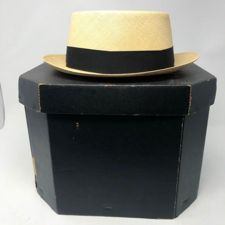 Vintage 60s ADAM Men's Hat Size 7 1/8
