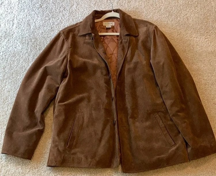 J. Crew Leather Jacket