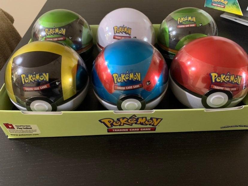 Pokemon TCG 2020 Pokeball Tins!!