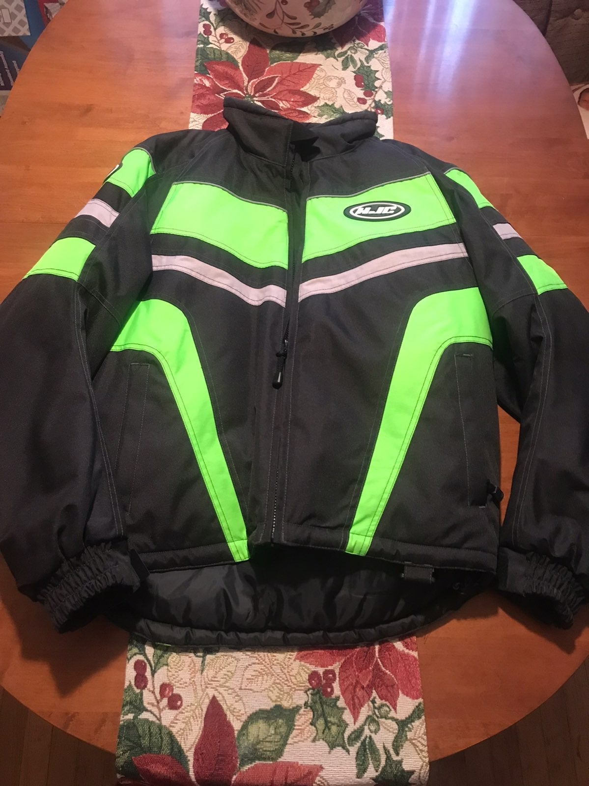 snowmobile jacket & gloves
