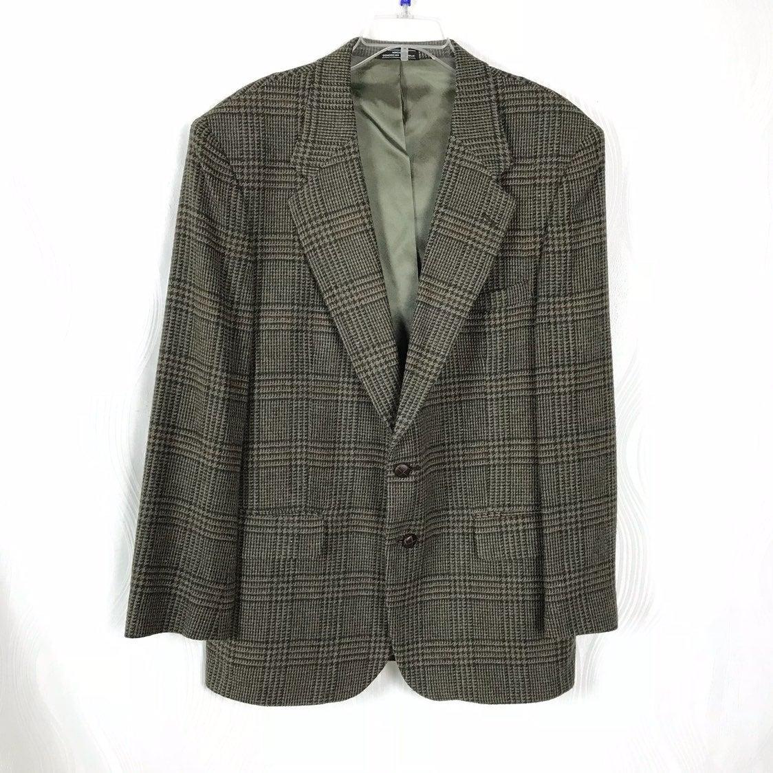 Saville Row Lambswool Blazer Suit Jacket