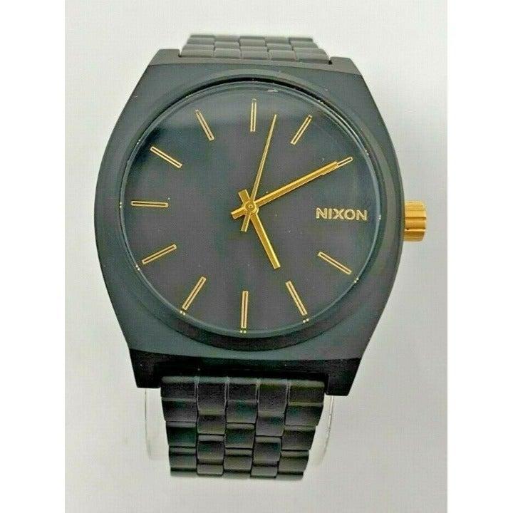 Nixon Time Teller Watch - Matte Black
