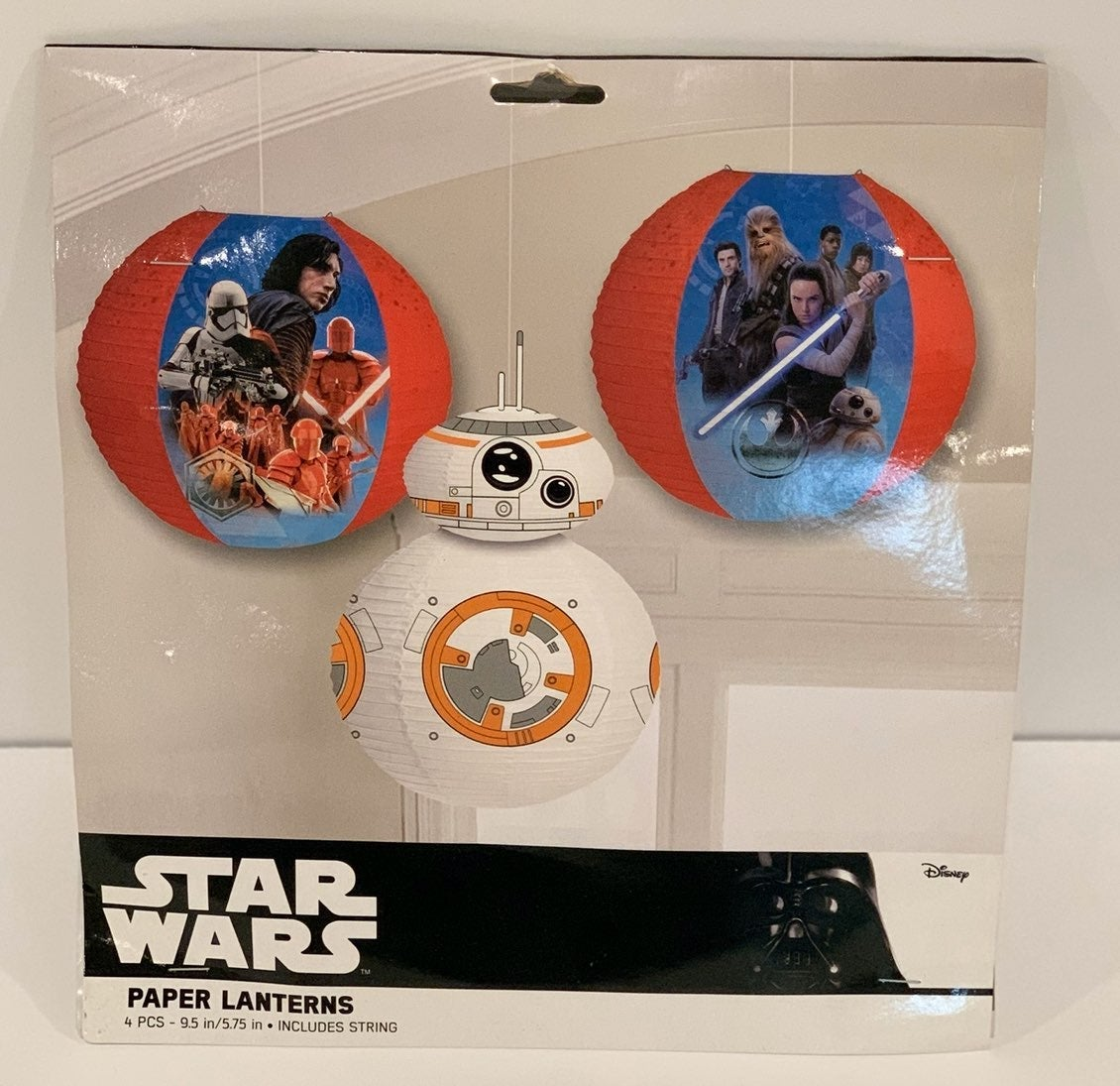 Star Wars 3-Pack Paper Lanterns