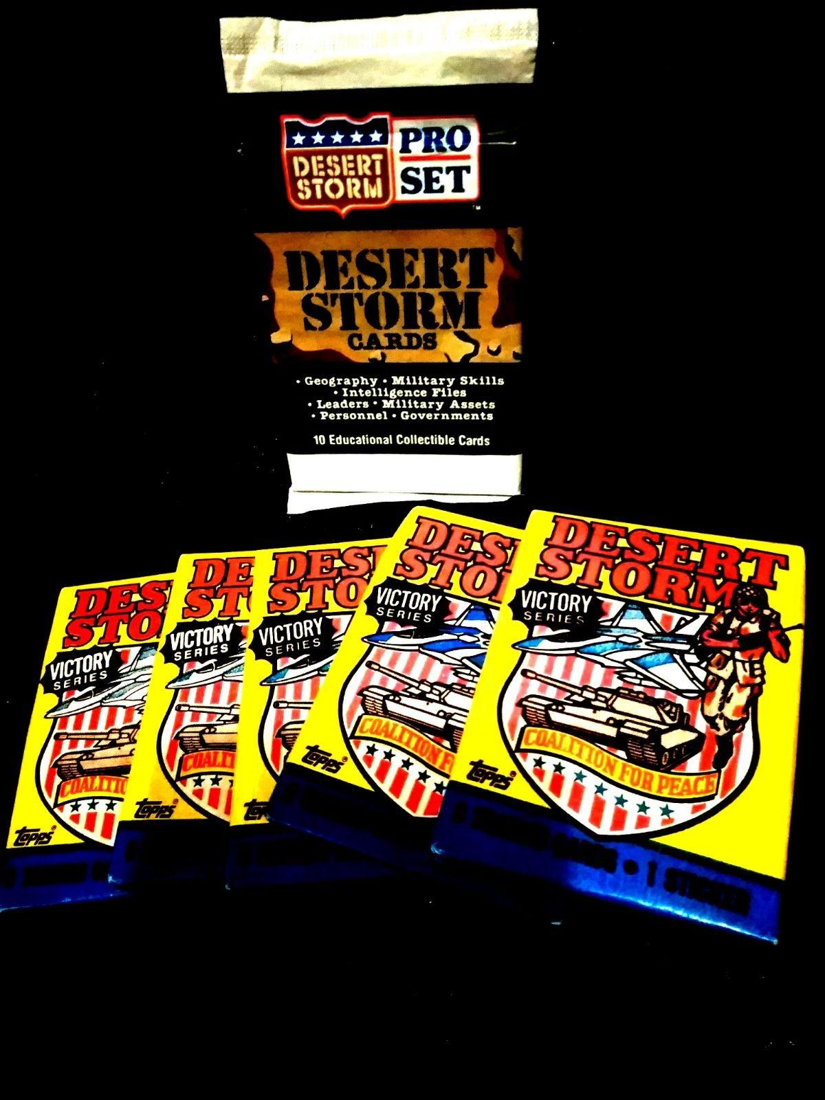 Desert Storm Victory Cards