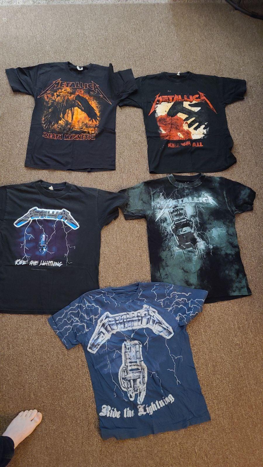 Metallica Band Men Medium Tshirts