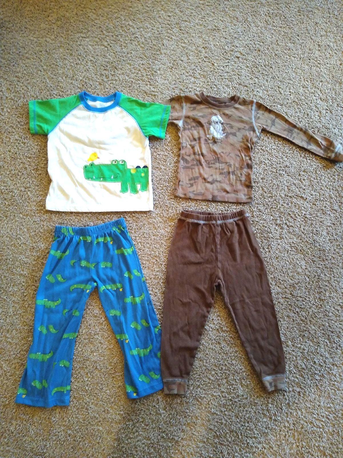 2 Pack Carter's Boys Pajamas 4T