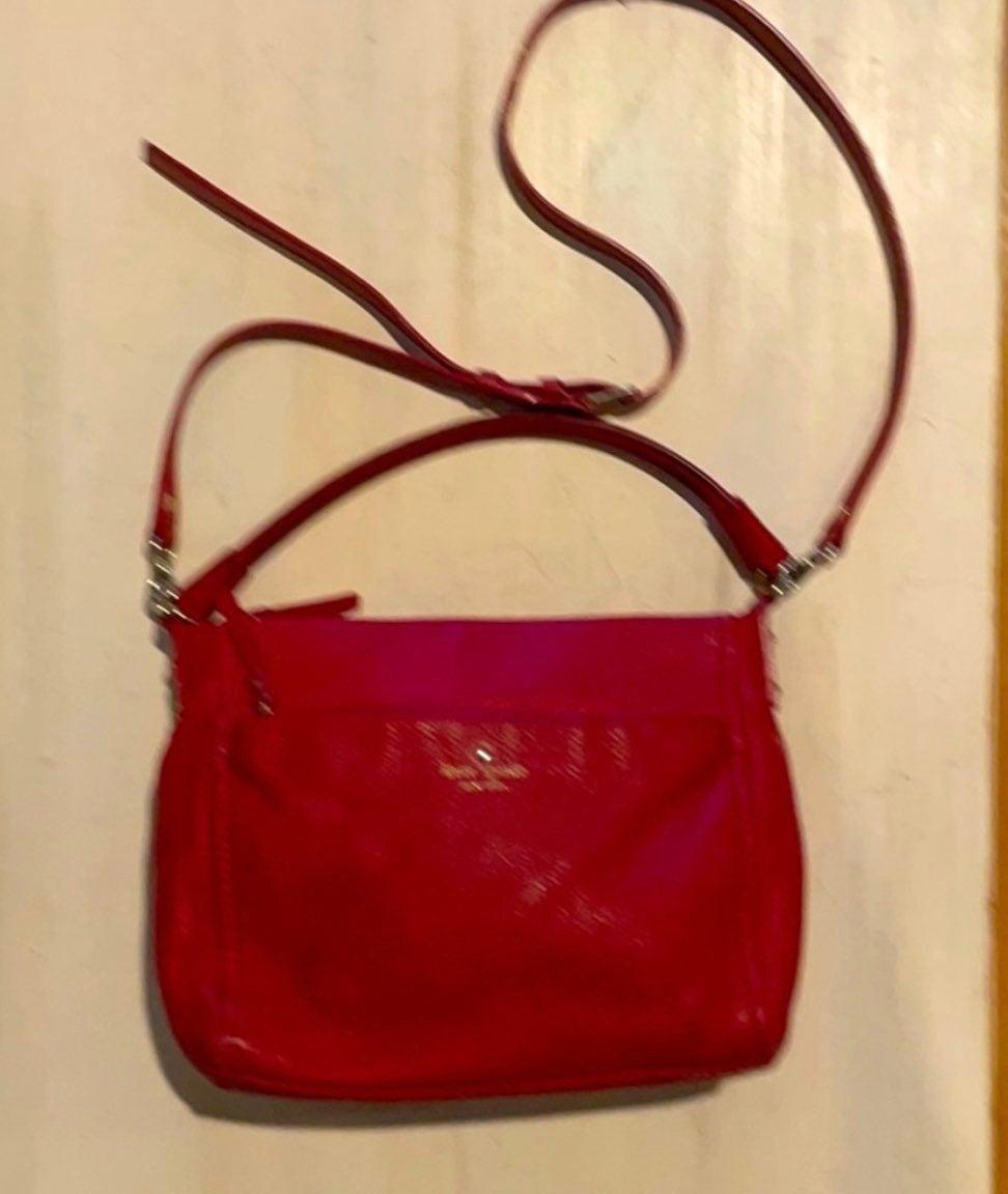 Kate Spade New York Red Leather Shoulder