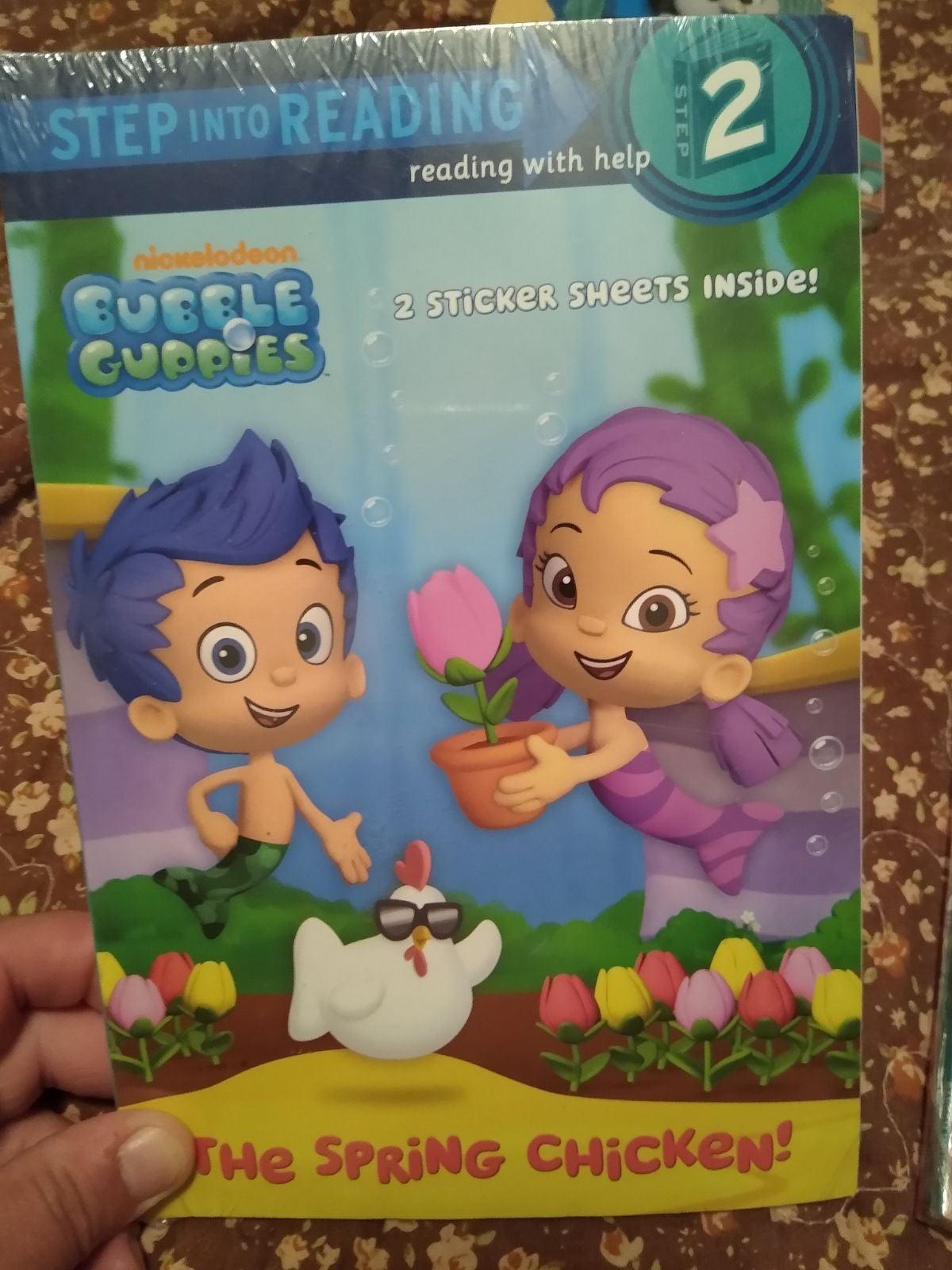 Bubble guppies books