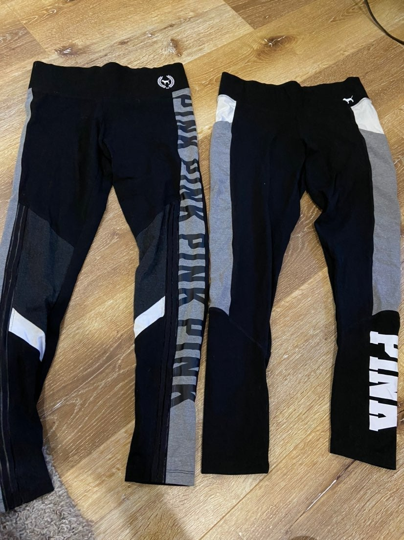 pink leggings bundle
