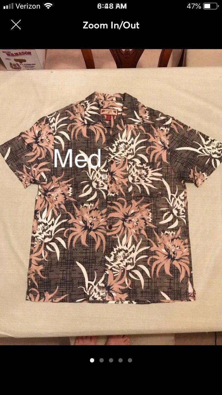 Men's M Caribbean Joe Hawaiian Shirt