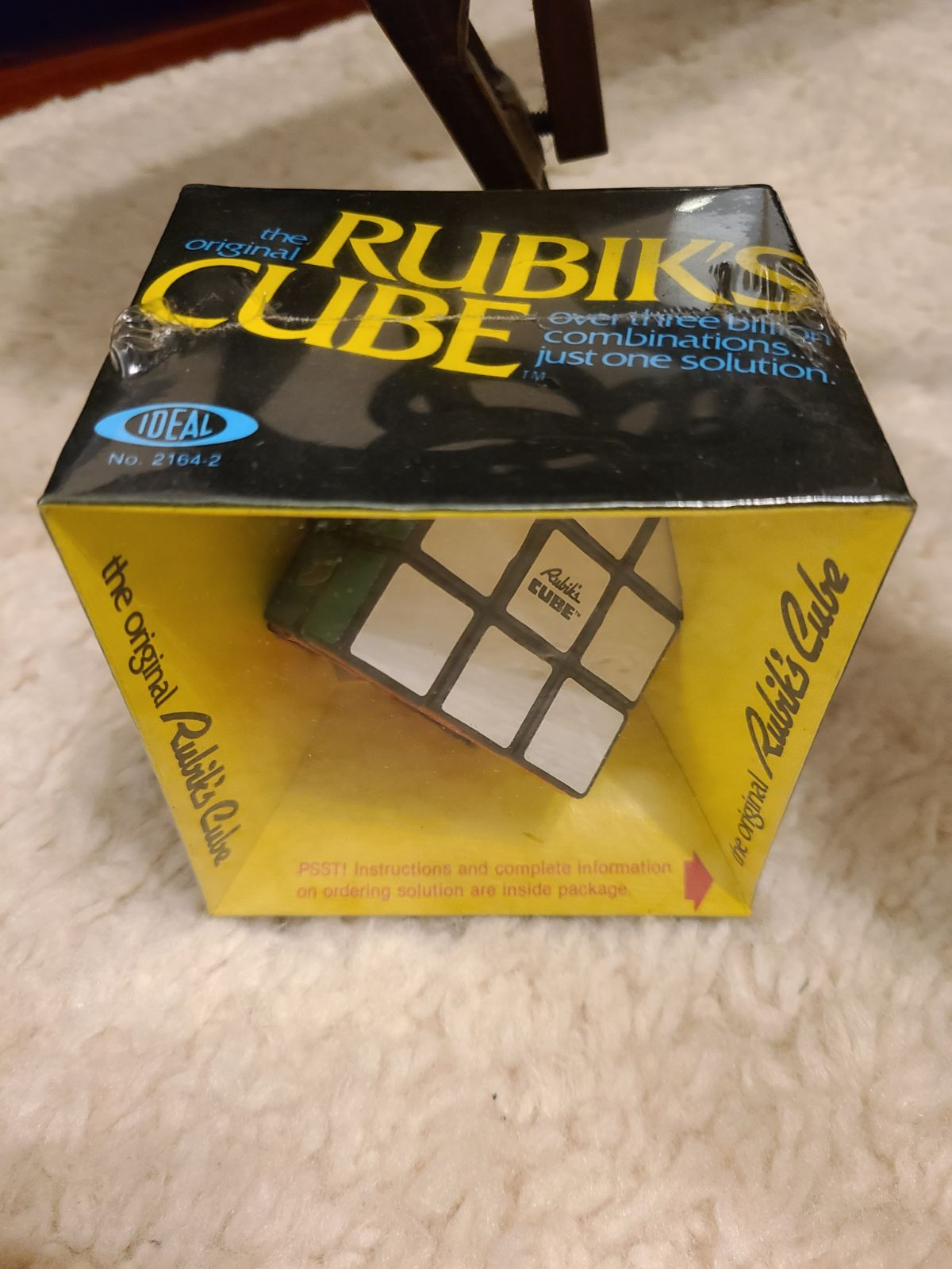 Vintage The Original Rubik's Cube Factor
