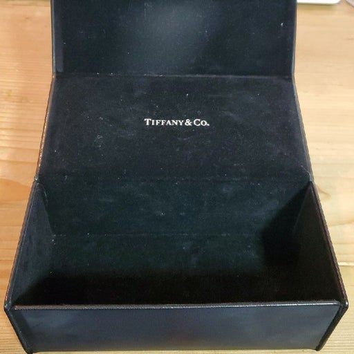 Tiffany & Co. Small leather box