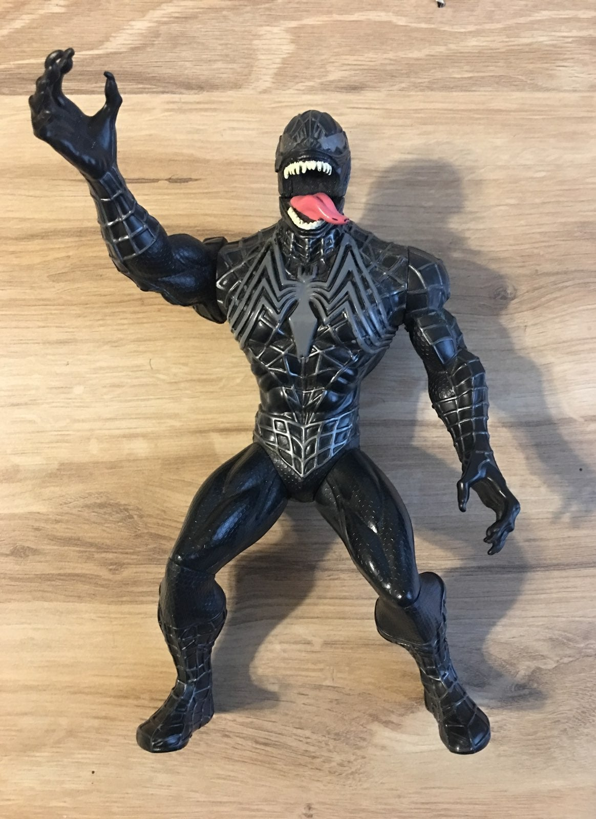 "Marvel 10"" Venom Action Figure Spiderman by Marvel"