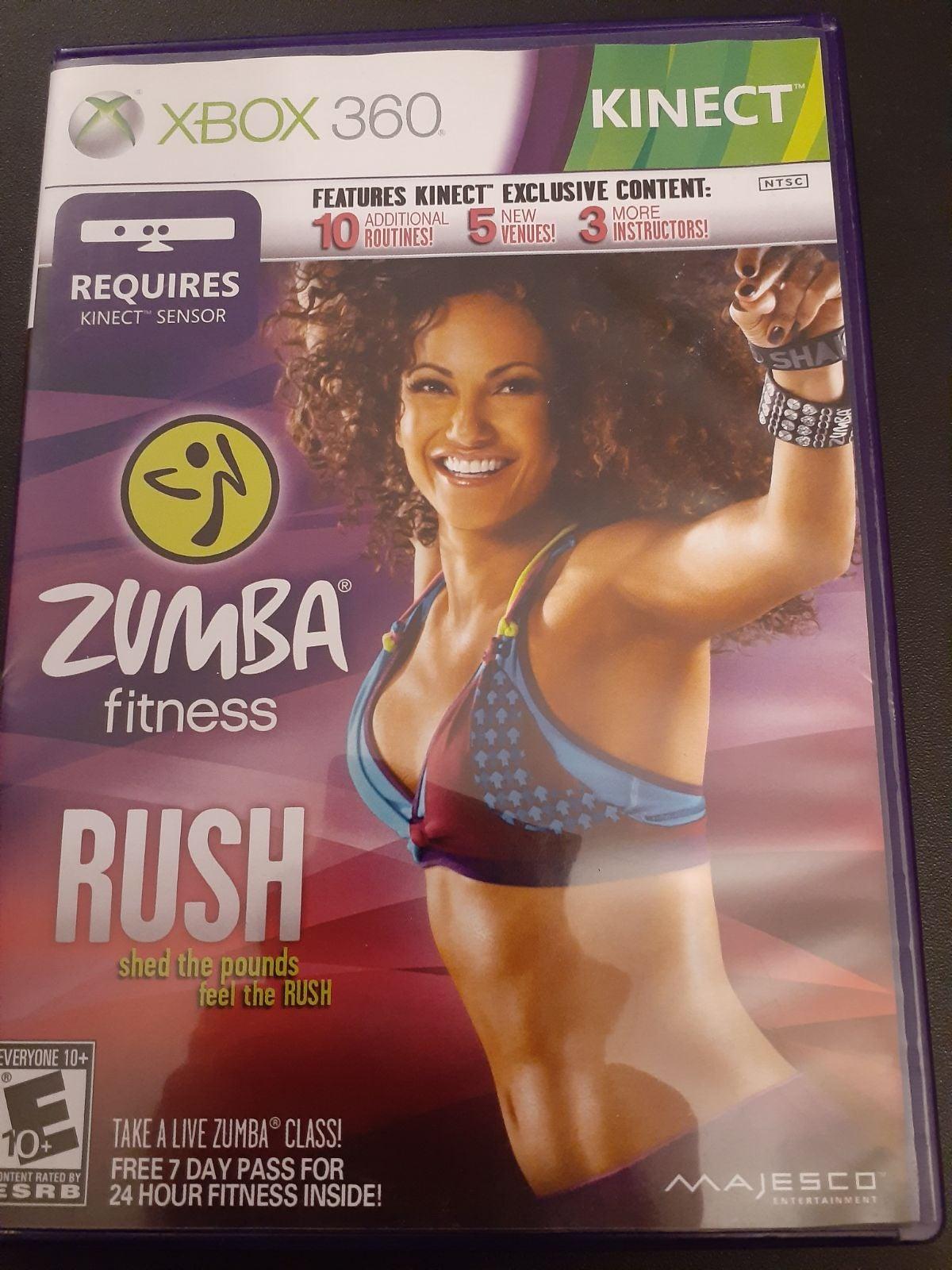 ZUMBA Fitness RUSH (X-Box 360)