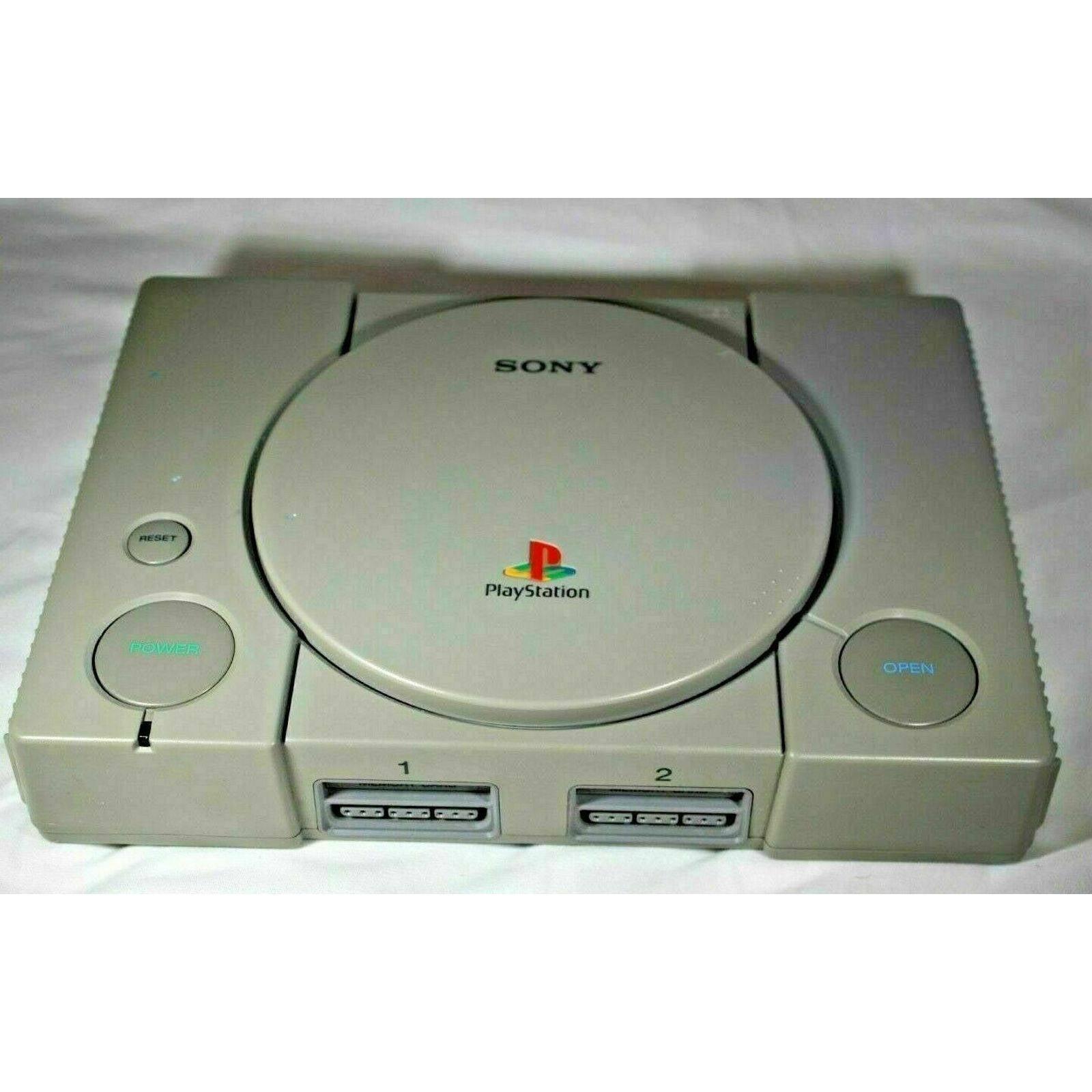 Sony PlayStation 1 PS1 SCPH-7501 Gray