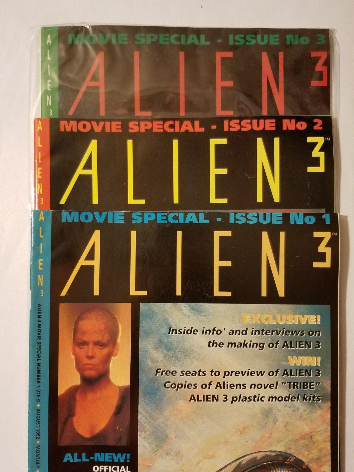 Alien 3 Dark Horse movie magazine specia
