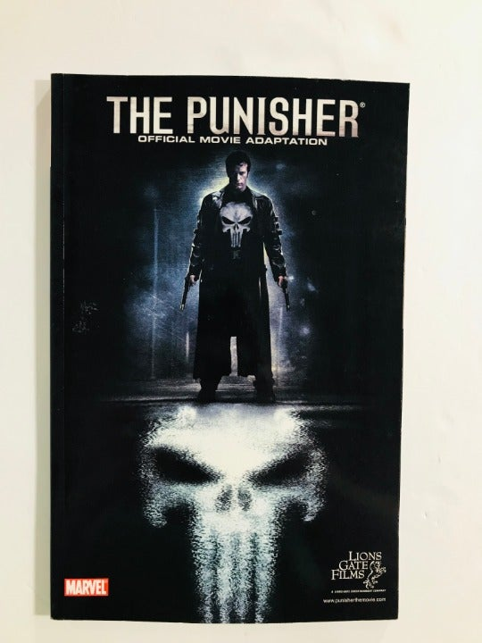 The Punisher Official Movie Adaption TPB