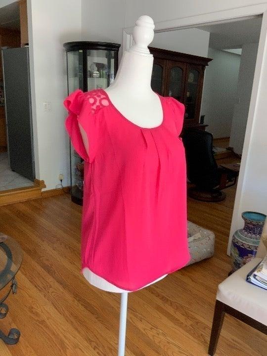 Pretty pink summer top