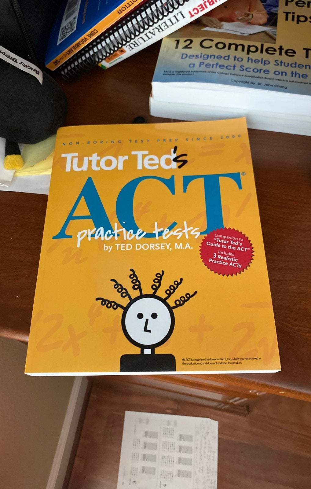 Tutor Ted ACT practice tests