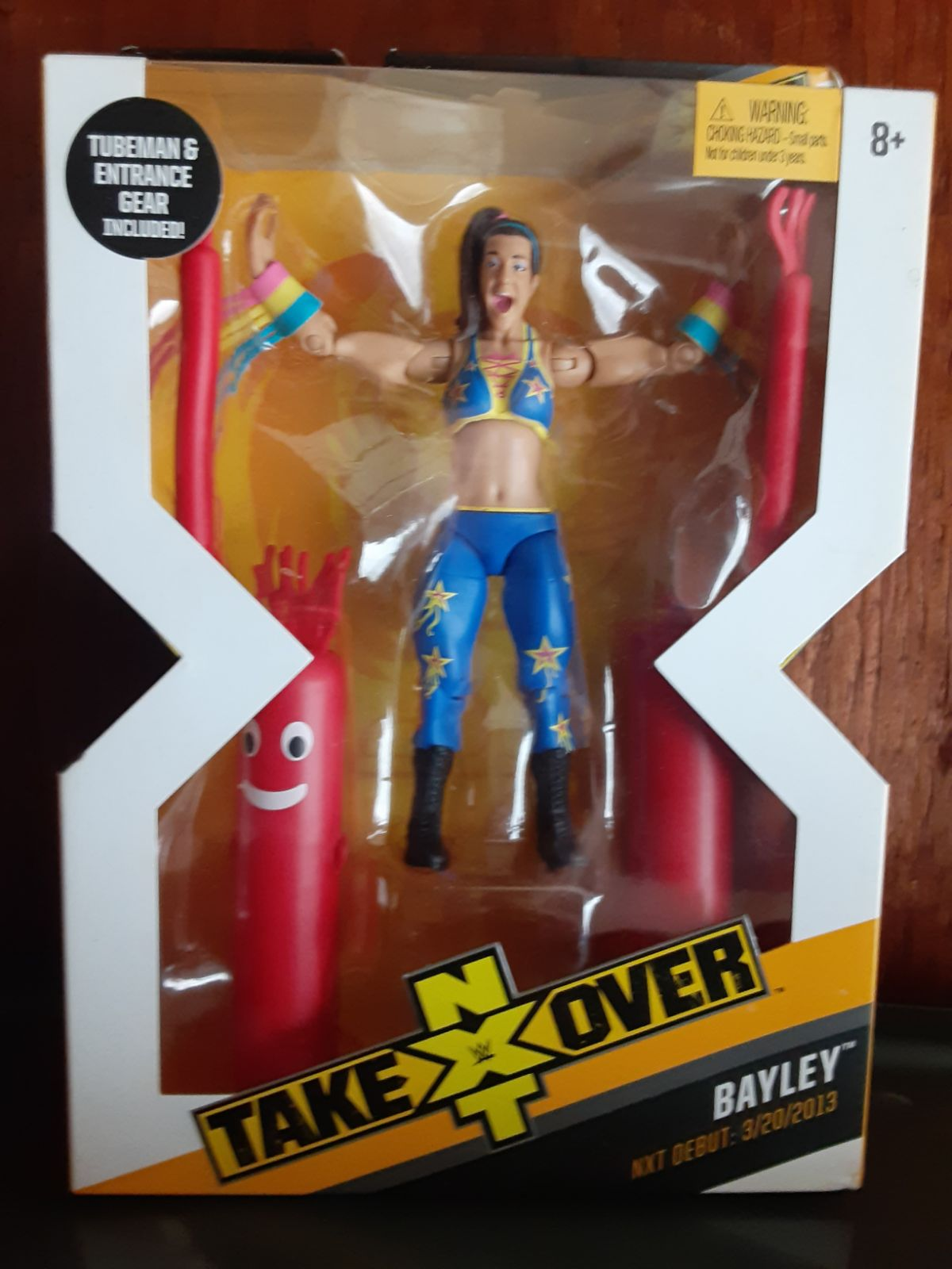 WWE Elite Bayley Nxt Takeover