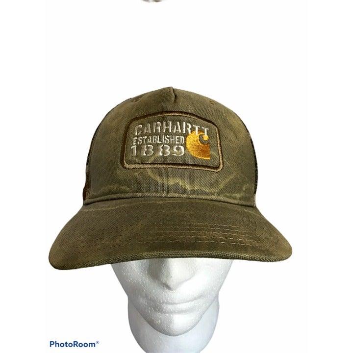 Carhartt Baseball Trucker Hat Cap Mesh